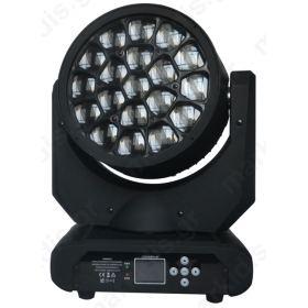 LED ZOOM WASH ΚΙΝΗΤΗ ΚΕΦΑΛΗ RGBW 19X15W+KALEIDOSCO