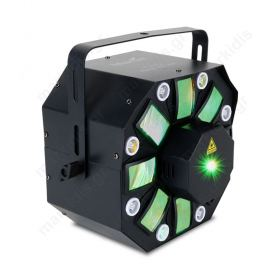 HYBRID EFFECT LIGHT-WASH LASER STROBE