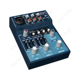 BLUETOOTH & USB MIXER 3 ΚΑΝΑΛΙΩΝ