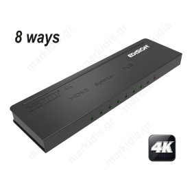 4K HDMI Splitter 1x8