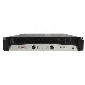 2 x 400W stereo amplifier