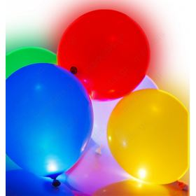 5 led light up balloons