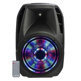 350W amplified speaker with leds