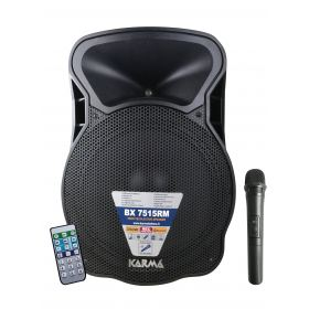 350W amplified speaker with wireless microphone