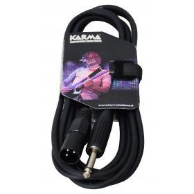 Cavo audio Jacl 6,3 - XLR M - 1,5mt