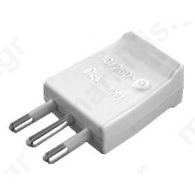 10 A mobile plug 2P+T