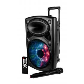 100W led powered speaker