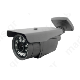 ΚΑΜΕΡΑ ANGA AQ-4220-ND4 BULLET (4in1) AHD/CVI/TVI/CVBS 2.4MP 1/2.8 1080P/960H STARLIGHT 3PCS aray led+14pcs PIRANHA LED 100MTR 2.8mm-12mm