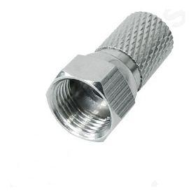 F αρσ. Επινικελωμένο βιδωτό για καλώδιο Φ 5.0mm