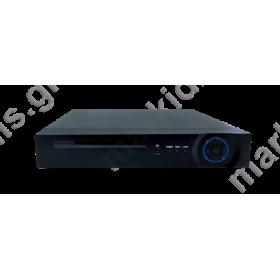 DVR ANGA Premium AQ-6004R5 4καναλια RT 5in1(AHD/TVI/CVI/IP/CVBS )Η264 DualStream,Recording 4CH 1080N,Playback 1CH Realtime 1080N,4 Audio In/1Audio Out ,1Sata MAX 4TB,RS485,USB backup Έξοδοι VGA HDMI 1080,P2P,SmartPhone,Mouse,με Τηλεχειριστήριο