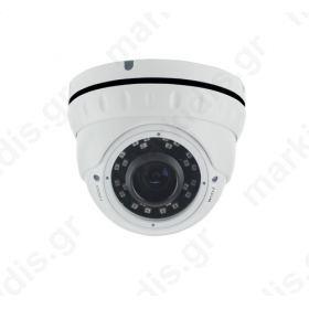 Κάμερα IP ANGA AQ-2210LIPD, 2 MP, 1/2.9 SONY Hi3516C+IMX323, Υψηλής Ανάλυσης, H.264, ONVIF, Φακός 2,8-12mm, WDR, DNR, IRCUT, IR Led 14X24PCS, Απόσταση 30μ, Αδιάβροχη IP65, 12V, Mεταλλική