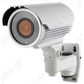 Kάμερα ANGA AQ-3205LS4 (4 in 1) AHD/CVI/TVI/CVBS, 1/2.7 CMOS 1080P 2MP, F22 + HTC1080E, Φακός 2.8 - 12mm, ΙR Led 42X4PCS, 40 μέτρα, Αδιάβροχη IP66, 12V, Μικτό Βάρος: 1400gr