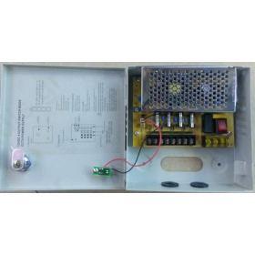 Σταθεροποιημένο τροφοδοτικό 12V / 5A / 60W, 4 εξόδων, ANGA CP1209-5A-4