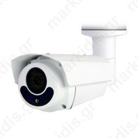 Kάμερα AVTECH DGC1306P TVI 1/2,7 CMOS 1080P, Φακός Motorized 2.8 - 8.0mm, ΙR Led 4PCS, 50 μέτρα, Αδιάβροχη IP66, 12V, Mεταλλική, Μικτό Βάρος: 1050gr