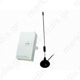 ANGA AG-1106 GSM GATEWAY 12V ή 24V για κέντρα συναγερμού, Με δύο Trigger (1x + / 1x -), ΣΥΜΒΑΤΗ ΜΕ ΚΑΡΤΕΣ SIM 3V & 5V