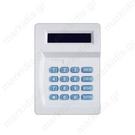 ANGA AG-D20 Τηλεφωνητής με οθόνη LCD, Μνήμη 10 Τηλεφώνων, Χρόνος εγγραφής μηνύματος 20 δευτ., Δύο Trigger (+ / -), 12V
