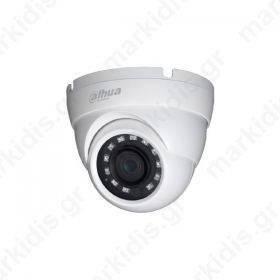 CCTV Dome Κάμερα 1MP HAC-HDW1000MR HDCVI DAHUA