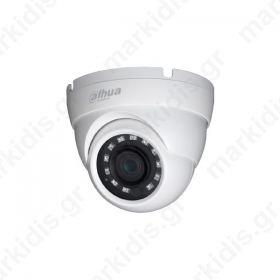 CCTV Dome Κάμερα 2MP HAC-HDW1220RM  HDCVI DAHUA