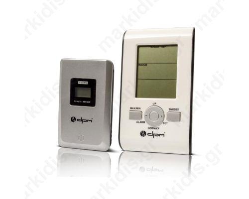 Ασύρματο Ψηφιακό Θερμόμετρο E0102T εσωτερικού / εξωτερικού χώρου