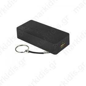 Φορητός Φορτιστής Msonic 5000mA  Power Bank μαύρο MY2580K