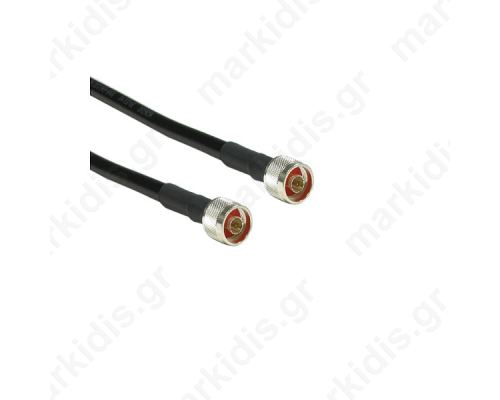 ANTENNA CABLE LMR400 3m N-TYPE MALE-MALE