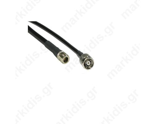 ANTENNA CABLE  RESERVE MALE TNC TO N-TYPE FEMALE 2m LMR200