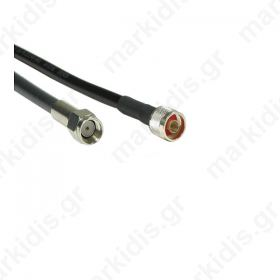 ANTENNA CABLE MALE REVERSED - SMA to N-Type MALE LMR200 3m ANTENNA CABLES 52011146