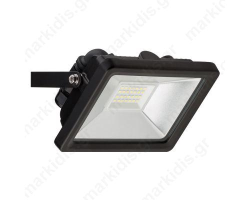 59002 LED OUTDOOR FLOODLIGHT BLACK 20W 1650lm