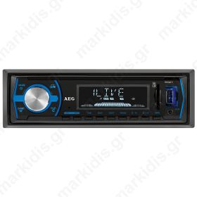 AR 4030 AEG CAR RADIO WITH BT/USB/CR 400690