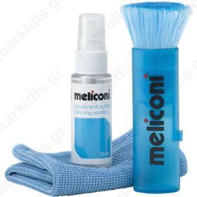 MELICONI C-35P 35ml SOLUTION + MICROFIBER CLOTH + BRUSH