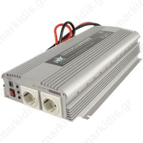 HQ-INVERTER 1700W/24V TO 230V