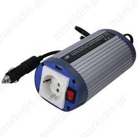 HQ-INV150WU-12   HQ INVERTER 150 W 12 V/230V + USB