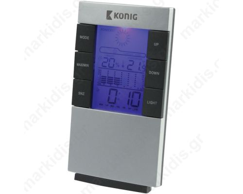 KN-WS 101N LCD CLOCK+WEATHER STATION