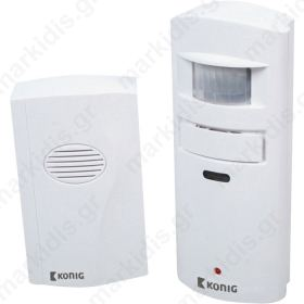 SAS-APW 10 Alarm with motion detector 130 dB
