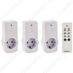 VLW SOCKET 03 Remote-control socket 3 PACK