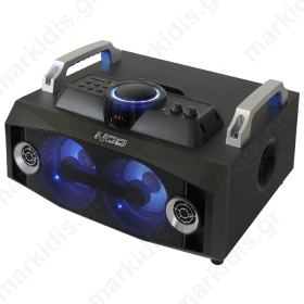 NOD MHS-100BL Mini Hi-Fi System with SD,USB, bluetooth and Blue LED