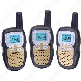 SWITEL WTE 2313 WALKIE-TALKIES EASY T10K TRIO PACK