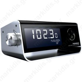 THOMSON CT350 RADIO ALARM CLOCK WITH TEMPERATURE