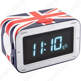 BIGBEN RR30GB UK FLAG RADIO CLOCK