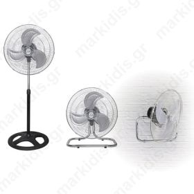 LIFE FS-300 Fan 3 in 1,stand/floor/wall mounted,50W