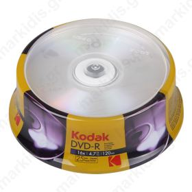 KODAK DVD-R 25-Pack 16x 4.7GB