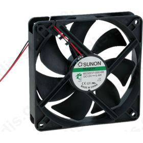 Ανεμιστήρας DC axial 24VDC 120x120x25mm 158m3/h 40.5dBA