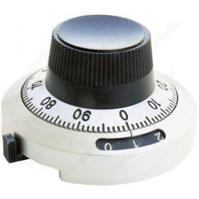 Precise knob with counting 6.35mm 46mm