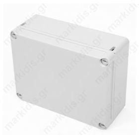 Κουτί Στεγανό IP55 7.5X7.5X40 Γκρί