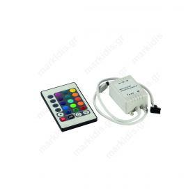 Controller για RGB Ταινία LED 6A Max