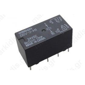 Ρελέ Ηλεκτρομαγνητικό  G5V-2 24DC