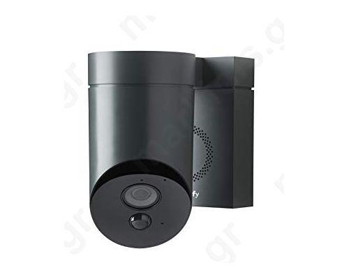 Κάμερα Ασφαλείας Εξ. Χώρου, Με Ενσωματωμένη Σειρήνα (Γκρί)