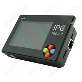 Tester για κάμερες CCTV, IP και Αναλογικές με έξοδο CVBS.