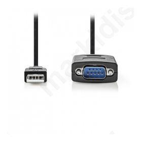 Μετατροπέας USB-A αρσ. σε RS232 αρσ. USB 2.0 καλώδιο 0.9 m
