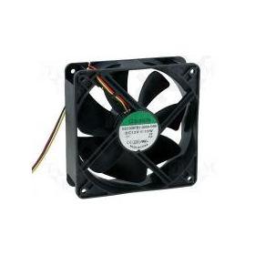 ΑΝΕΜΙΣΤΗΡΑΣ 120x120x38mm 12VDC 9.6W ΜΕ 3 ΚΑΛΩΔΙΑ